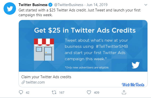 Twitter Ads Coupon Code