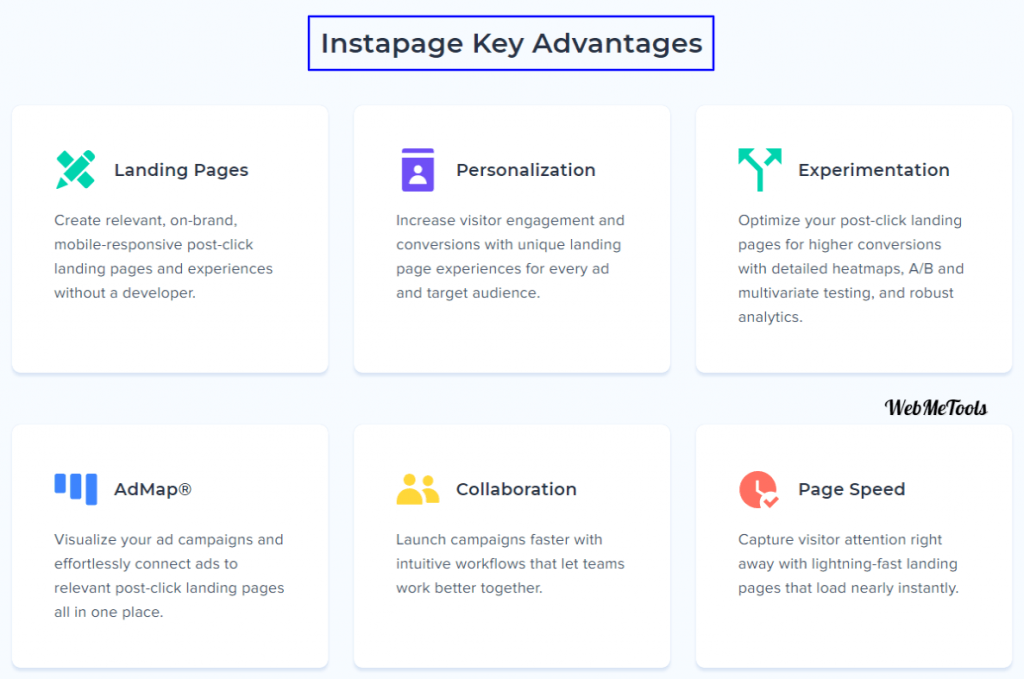 Instapage Features Advantages